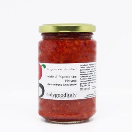 Tritato di peperoncini piccanti