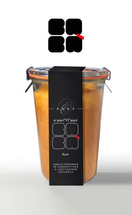 Babà al Rum in vasocottura da 580g