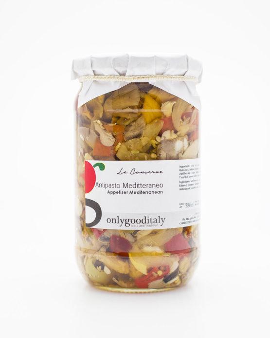 Antipasto mediterraneo prodotto italiano shop online