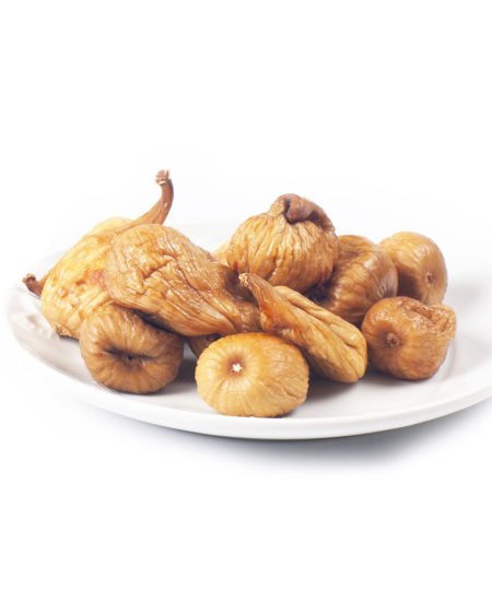 Dried figs stuffed with almonds
