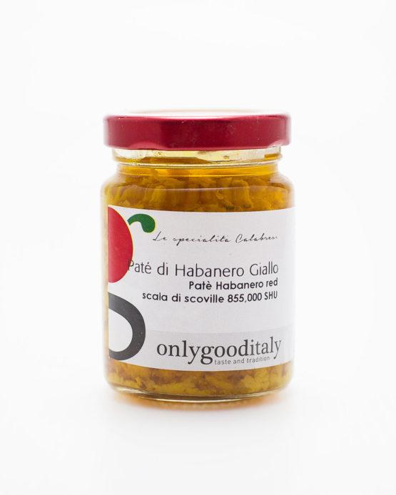 Paté di Habanero Giallo prodotto italiano shop online