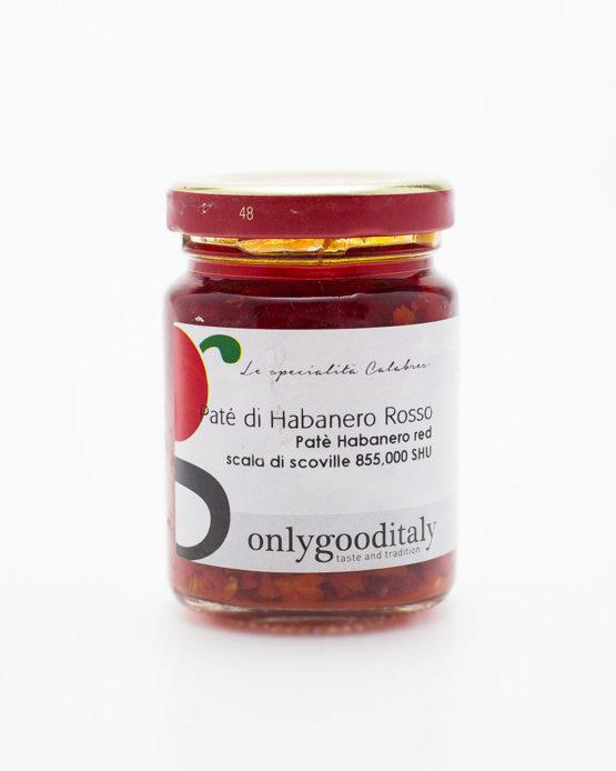 Paté di Habanero Rosso prodotto italiano shop online